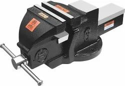 APEX Structure Black SG714 Machinist Bench Vice Fixed Base, 80 To 200 Mm, Size: 3 To 8