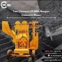 Nextgen Two Channel Lift Mixer With Hydraulic Hopper