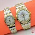 Omega Couple Wrist Watch