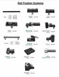 Rail Fixation System - Clamps & Plates