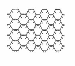 SS321 Hex Metal Refractory Lining