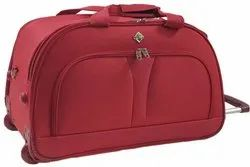 red,green Polyester Duffle Trolley Bag (3 pcs set), For Travel