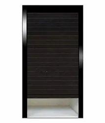 Slimline Glass Kitchen Cabinet Rolling Shutter Door ( 600 X 1320 Mm ) (White) Imported