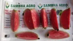 Nashik Outside Green Seedless Red Guava (Big), Packaging Type: Carrete, Packaging Size: 20 Kg