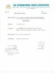 Rai International Health Association Water Sampling Report