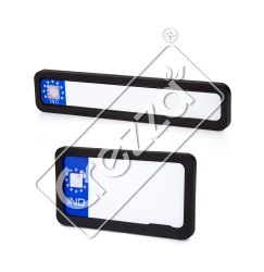 Number Plate Frame With Name Printing Frame