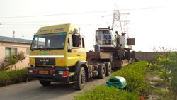 Excavator Truck Transportation Service