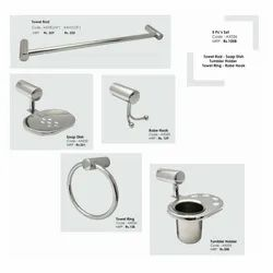 Stainless Steel silver Bathroom Accessories, For Residential, Size: 15mm