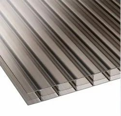 Triple Wall Polycarbonate Sheet, Thickness 10mm