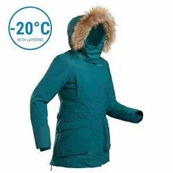 Quechua SH500 Womens Waterproof Hiking Parka Jacket