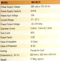 Electro Plasma 30-270A MMA/MIG Welding Machine MMA/MIG-270