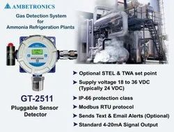 Ammonia Gas Detection System for Refrigeration Plant