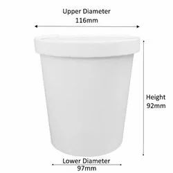750ml Standard Paper Container With Paper Lid