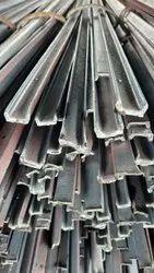 Black Mild Steel GATE CHANNEL