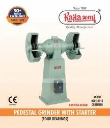 Electrically Operated Double Ended Pedestal Grinder