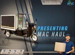 Mac Haul, Maximum Run Per Charge: 100-120 km, Loading Capacity: 500-1000 kg