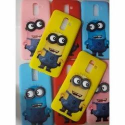 Minions Soft Mobile Back Cover