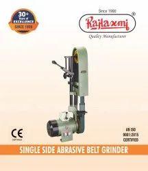 Single Ended Abrasive Belt Grinder
