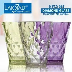 Transparent Crystal Glass, For Multipurpose Use