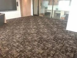 Polypropylene Glossy Constant Flier Carpet Tile, For Home, Thickness: 8 mm