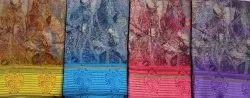 Rachna Digital Print Manipuri Cotton Silk Saree, 6.3 M (With Blouse Piece)