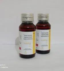 Ambroxol Terbutaline Guaiphenesin Mentol Syrup