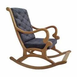 High Back Rocking Chair, Back Style: Cushion