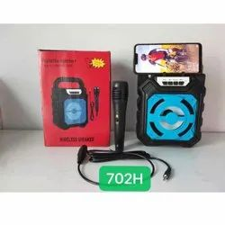 Portable Wireless Speaker With Microphone
