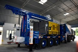 PDTHR 600 Skid (Trailer) Mounted Water Well Drilling Rig For Sale