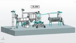 Us Agrotech Fully Automatic Flour Mill Plant