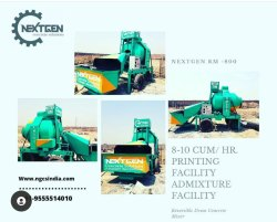 Mobile Concrete Batching Plant Rm 800