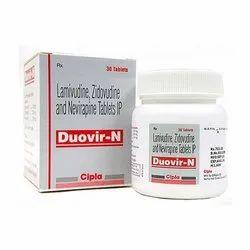 Duovir N Lamivudine Zidovudine Nevirapine Tablets