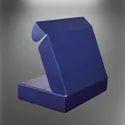 Plain Blue 3 Ply Corrugated Box