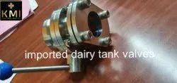 SS Dairy Tank Valves