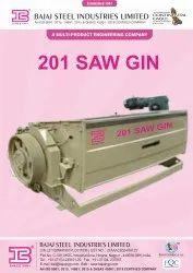 Cotton Saw Ginning Machine 201 Model