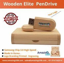 Wooden Pen Drive