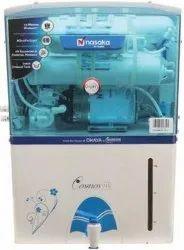 Reverse Osmosis Nasaka RO Water Purifier, Capacity: 11 Litre, Model Name/Number: Crown Star