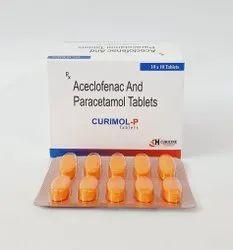 Aceclofenac 100mg Paracetamol 325mg Tablet