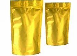 Gold Standy Zipper Pouch