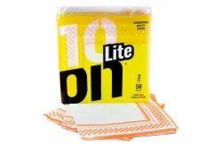Microfiber Printed Extra Soft Dinner Napkin, Size: 40x40cm
