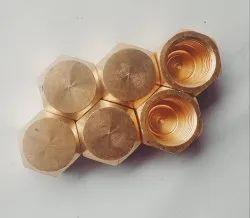 Hexagonal Forging 5/16-Brass Flare Dead Nut