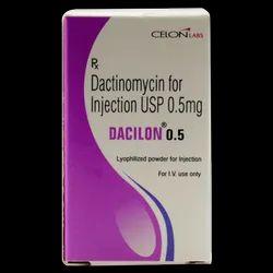 Dacilon Dactinomycin 0.5 Mg Injection