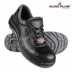ALKOPLUS Double Density Pu Sole Safety Shoes