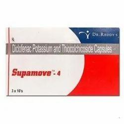 4 Mg Diclofenac Potassium And Thiocolchicoside Capsules