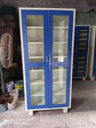 metal Glass Door Cupboard