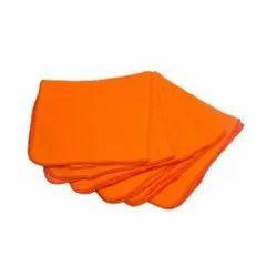 Orange Microfiber Cleaning Towel