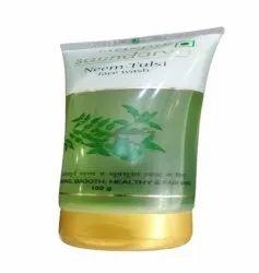 Green Patanjali Saundarya Face Wash, Gel, Packaging Size: 100gm