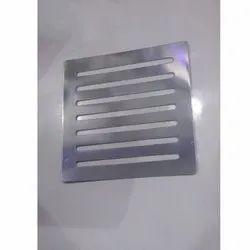 Stainless Steel Bathroom Plain Jali