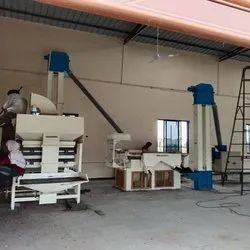 AUTOMATIC PAINTED SEED PROCESSING PLANT