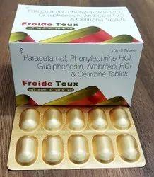 Paracetamol Ambroxol Guaifenesin Phenylephrine Cetirizine Hydrochloride